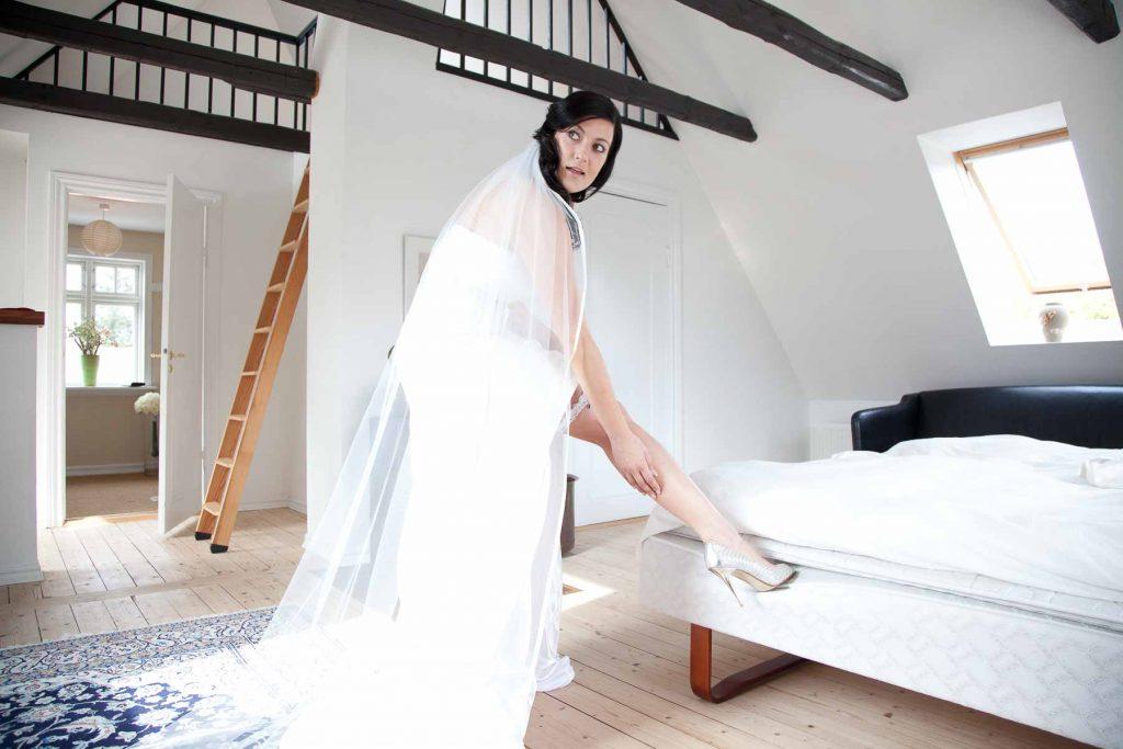 Man skal sku være dygtig for at lave gode bryllupsfotos