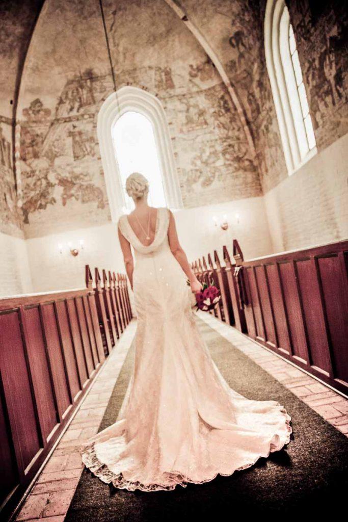 Bryllupsbilleder Østjylland