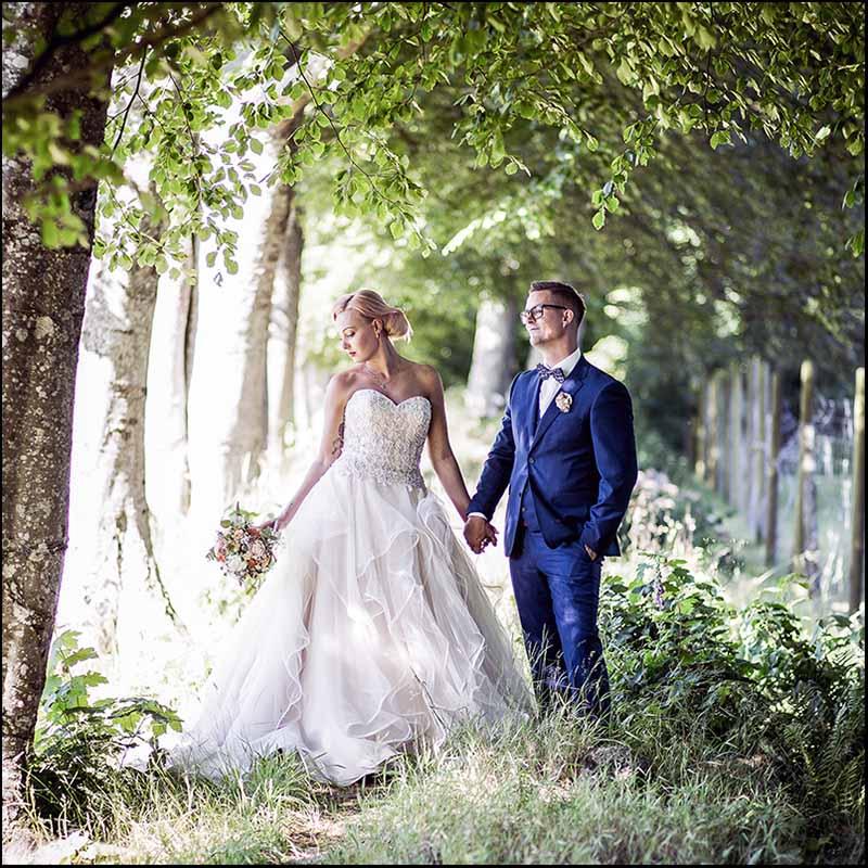 bryllupsfotografer Østjylland