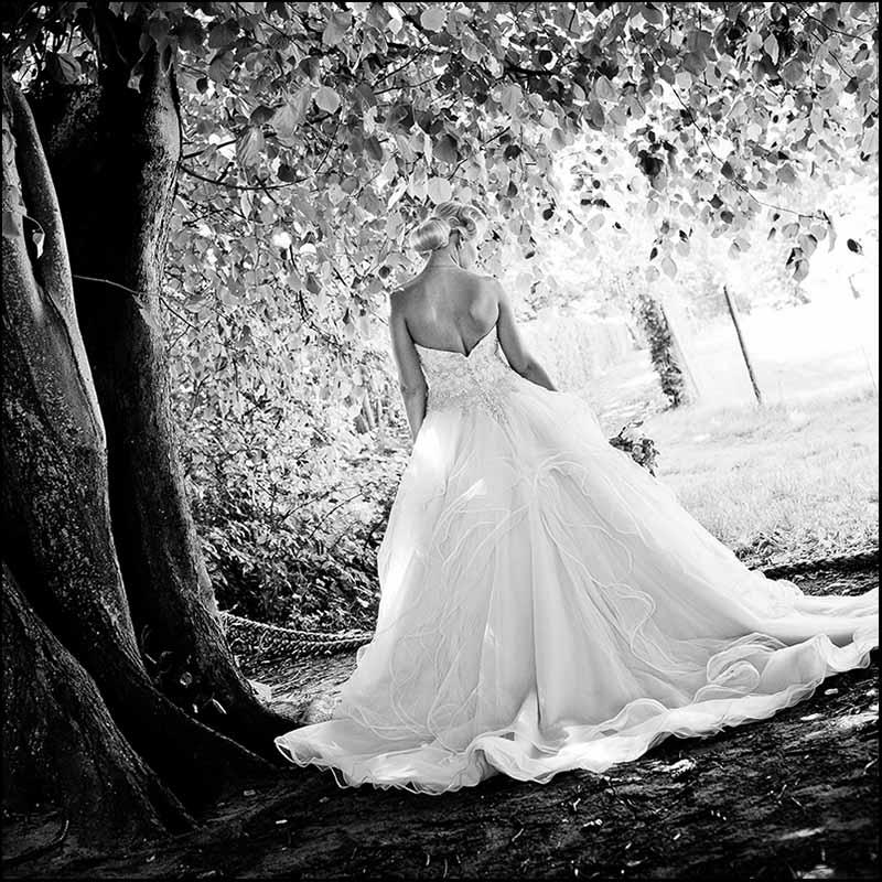 bryllupsfoto fra Østjylland