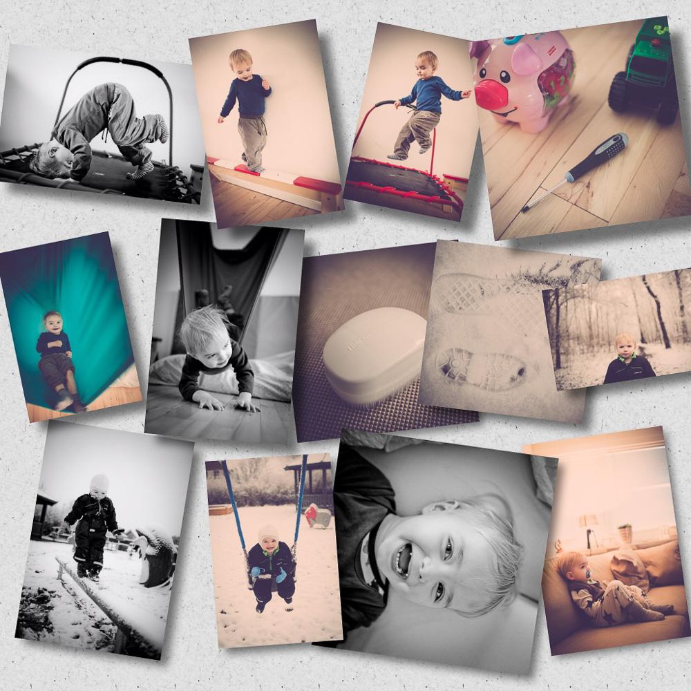 HJEMME FOTOGRAFERING