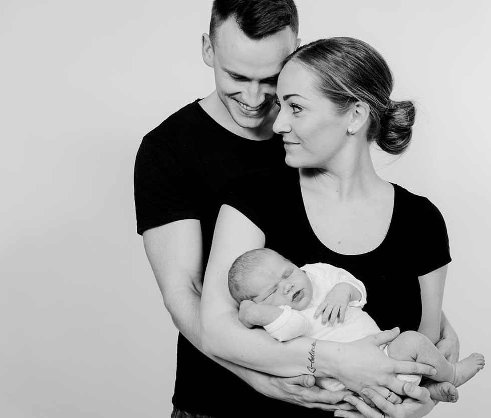 familiefoto i Hørsholm