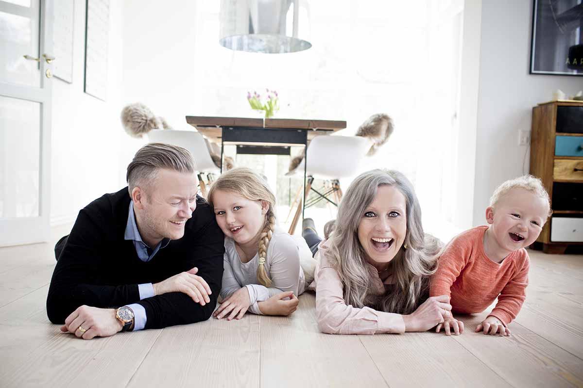familie foto i Horsens