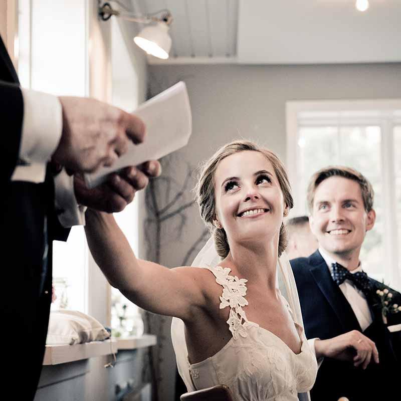 Fotograf til bryllup Østjylland