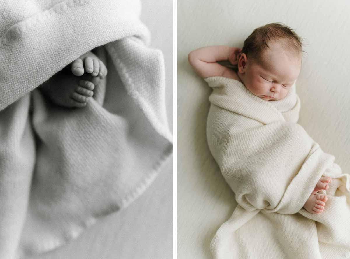 Nyfødt fotografering - Newborn billeder