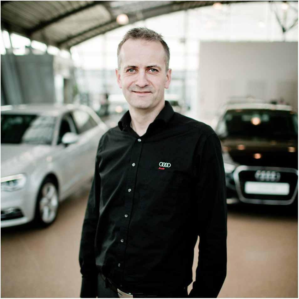 profilfoto hos Audi