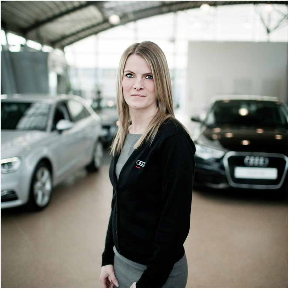 virksomhedsportræt hos Audi Silkeborg