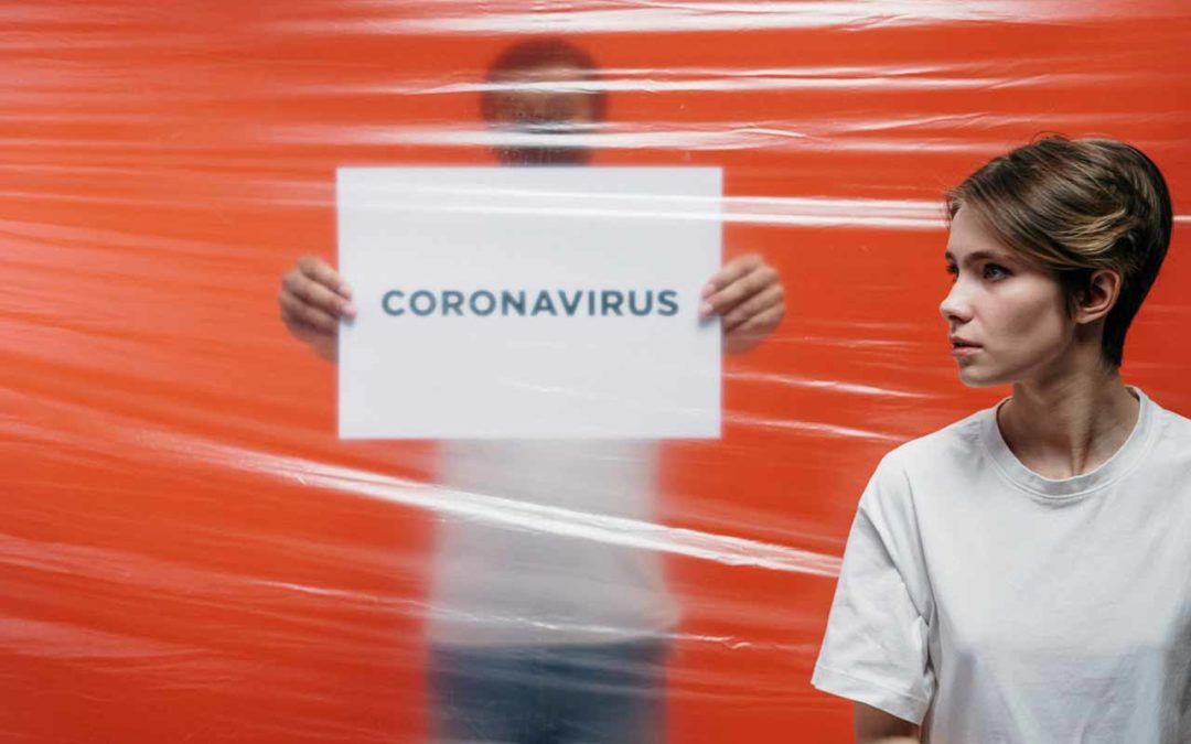 Fotografering of Coronavirus